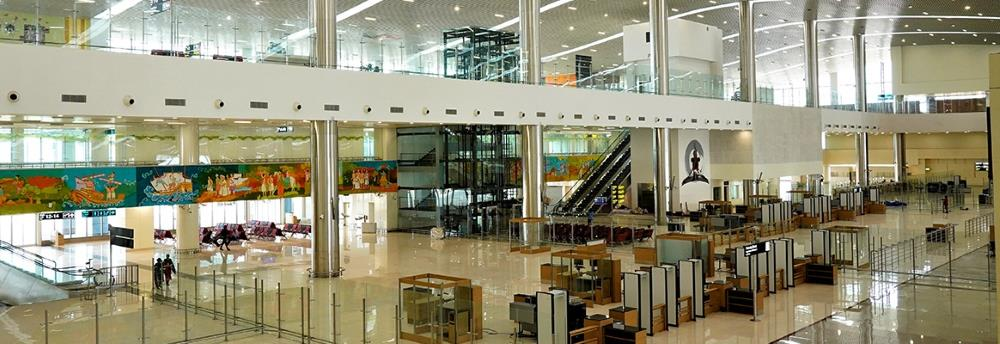 kannur airport interior